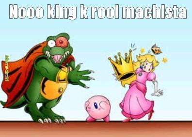 Noo king k rool opresor - meme