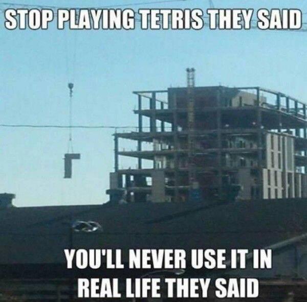 Tetris - meme