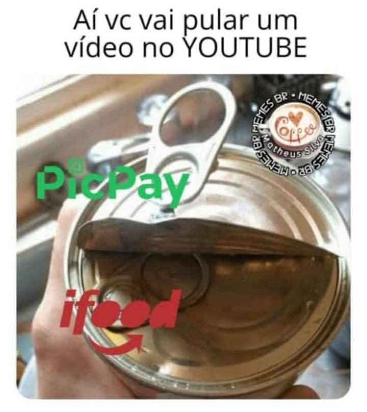 2 propagandas e ainda n pode pular - meme