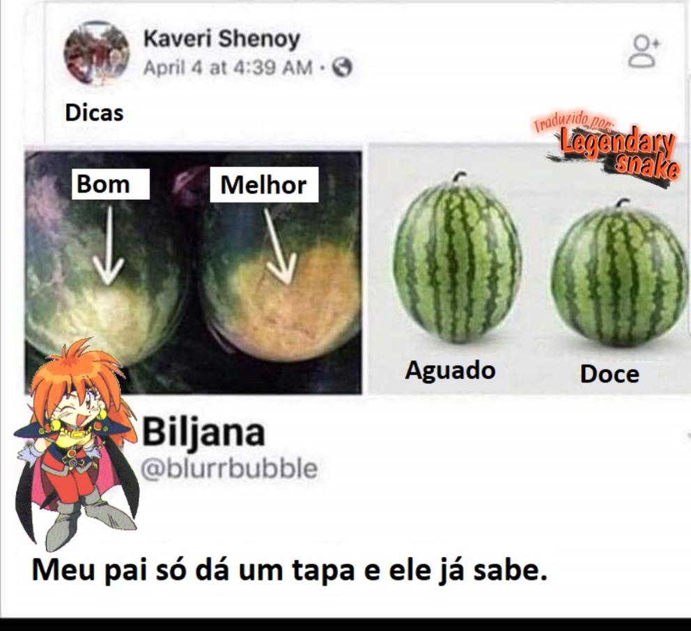Melancia - meme