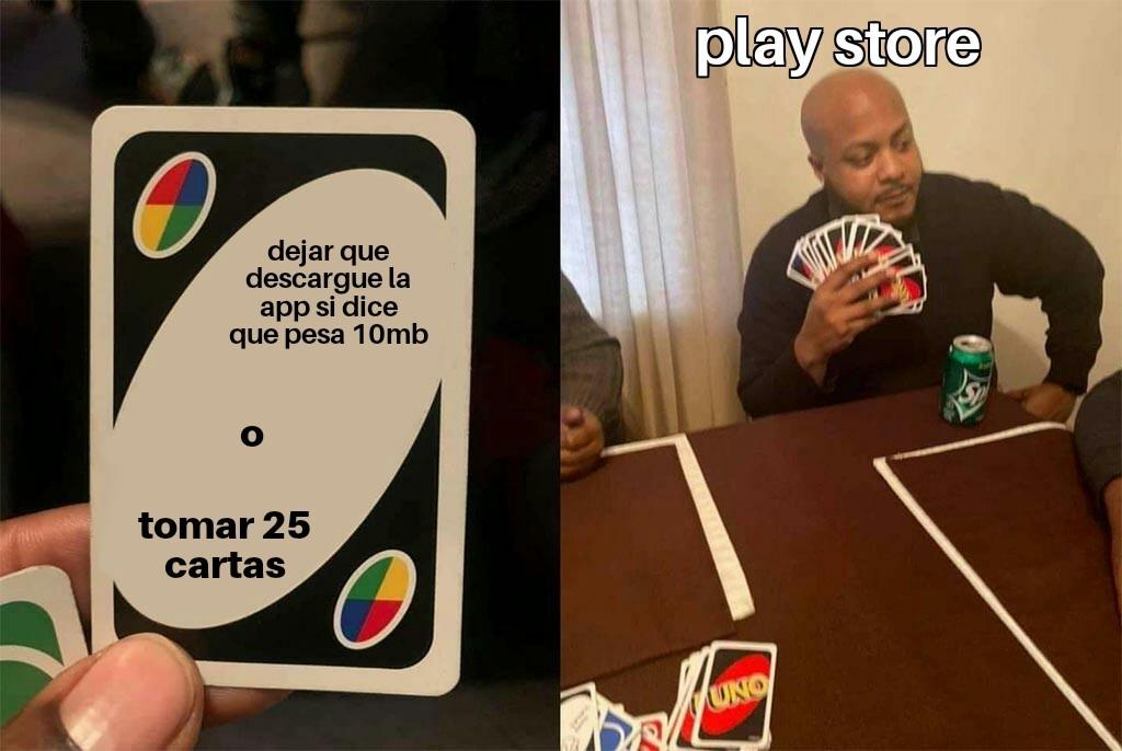 Play store - meme