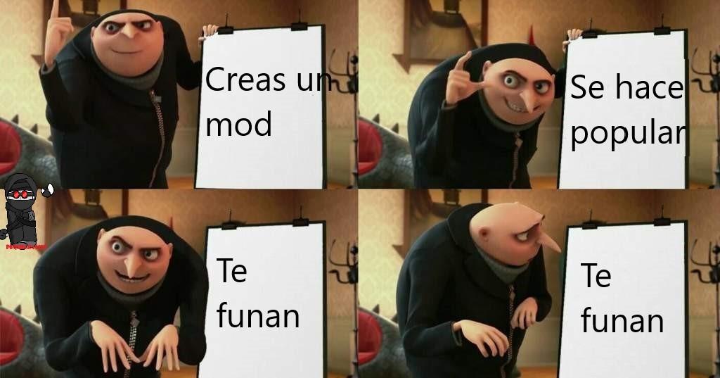 Creadores de mods en fnf be like(memierda): - meme