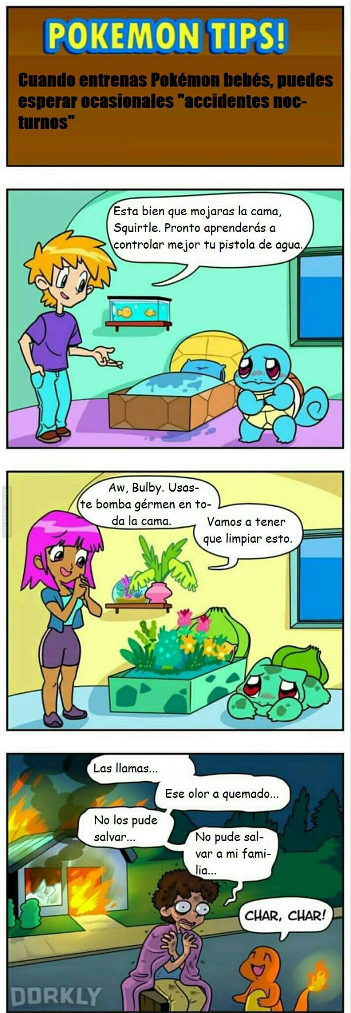 Lo que tienen los pokemon - meme