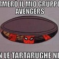 Spiderman negli avengers