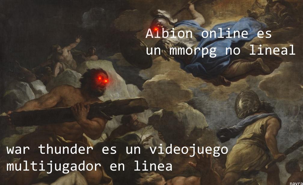 War thunder es un videojuego... - meme