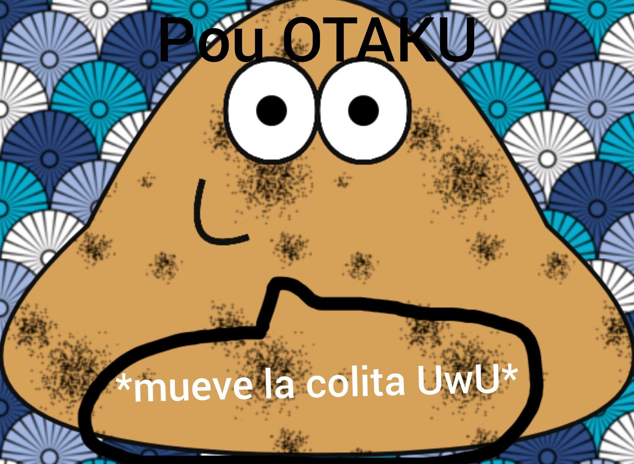 Pou OTAKU - meme