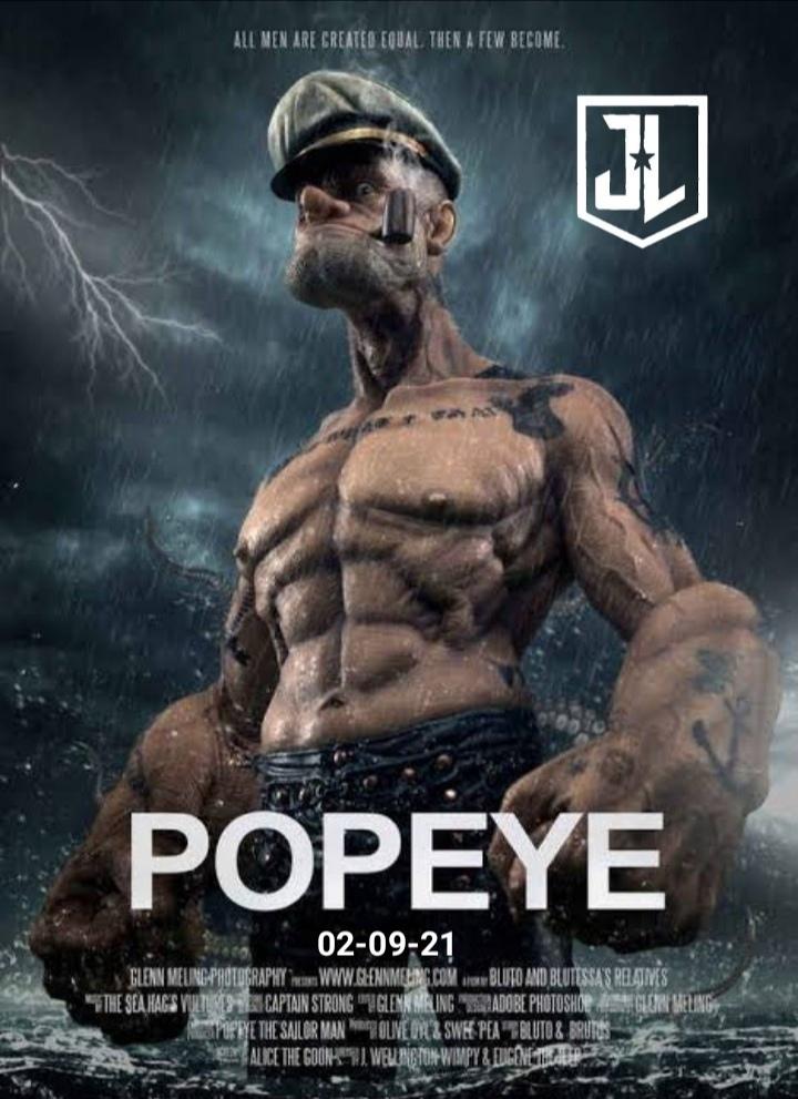 ¡¡Zacks snydert estrenará su versión de Popeye!! - meme