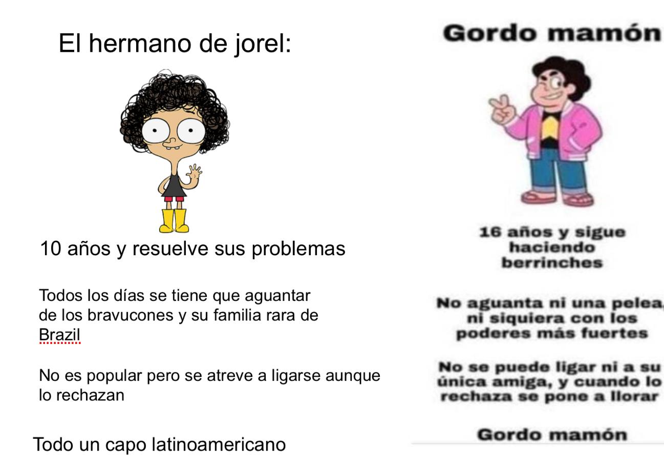 Todo un capo el Jorel - meme