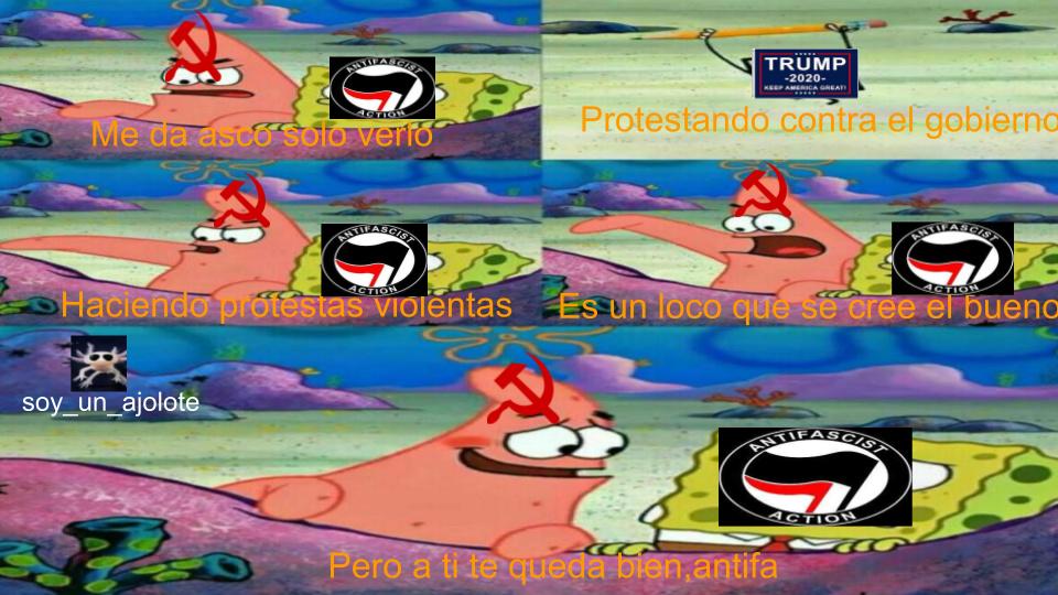 no defiendo a el movimiento de trump - meme