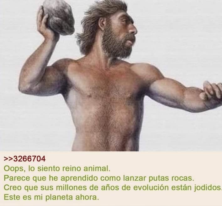 Si lo piensa es algo profundo (créditos a historias de 4chan en español en Facebook) - meme