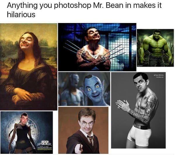 Mr. Bean - meme