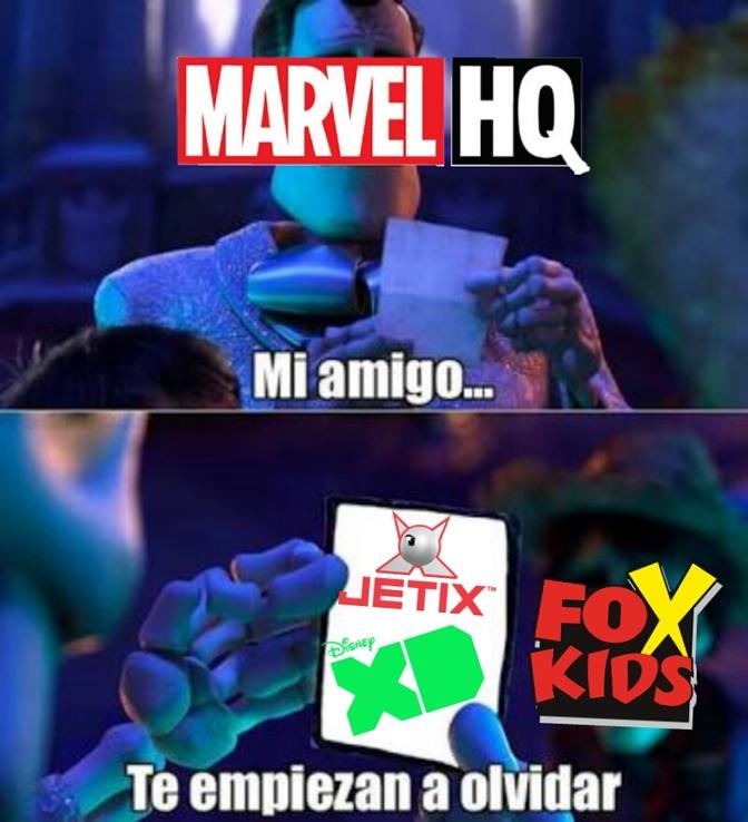 Disney XD esta olvidando - meme