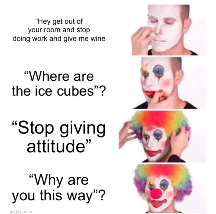 Parent issues - meme