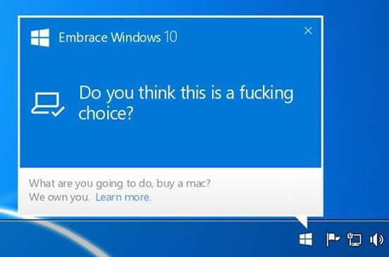 Just Windows 10. - meme