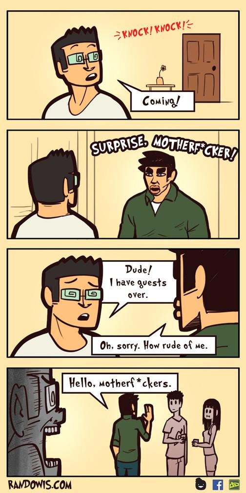 Surprise mothafucka - meme
