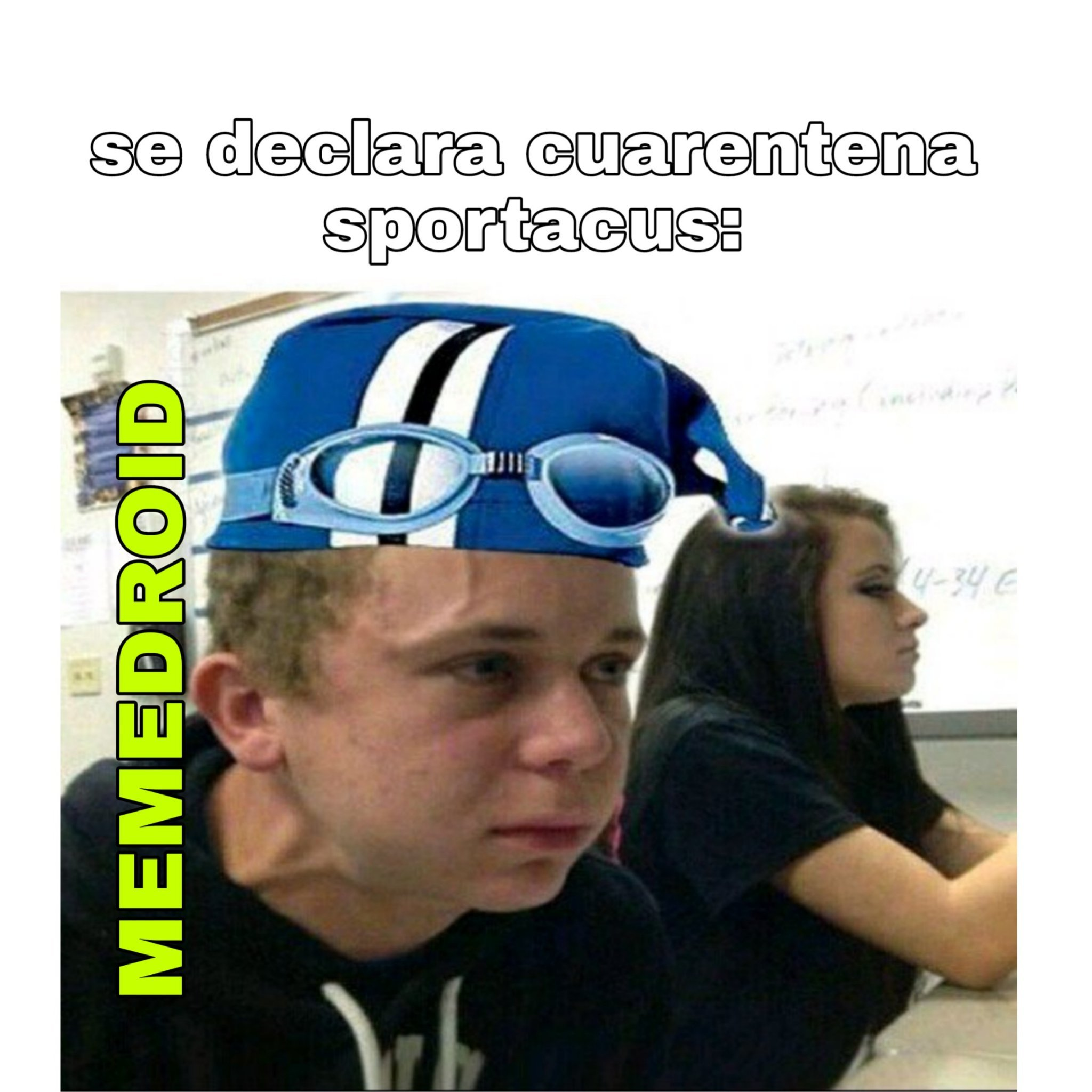 F por sportacus - meme