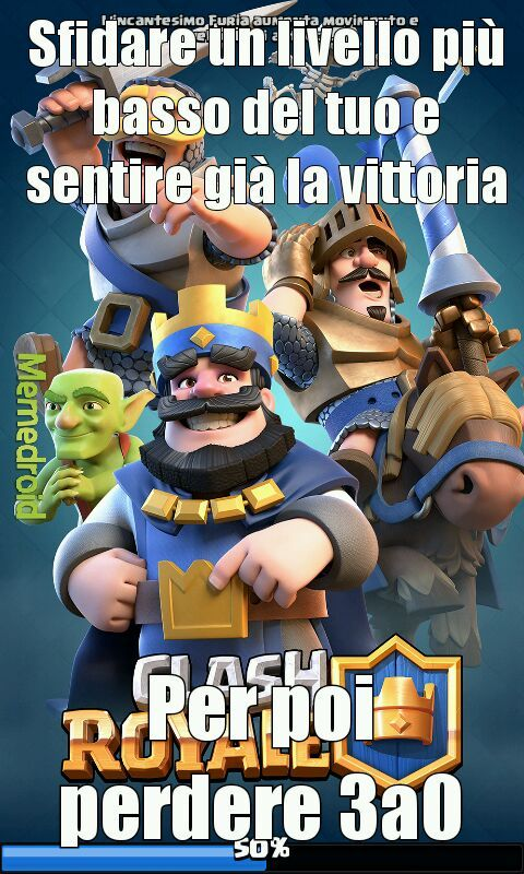 Clash royale ahah - meme