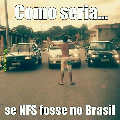 NFS no Brasil - meme
