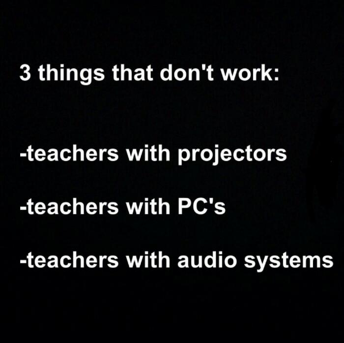 #teachers - meme