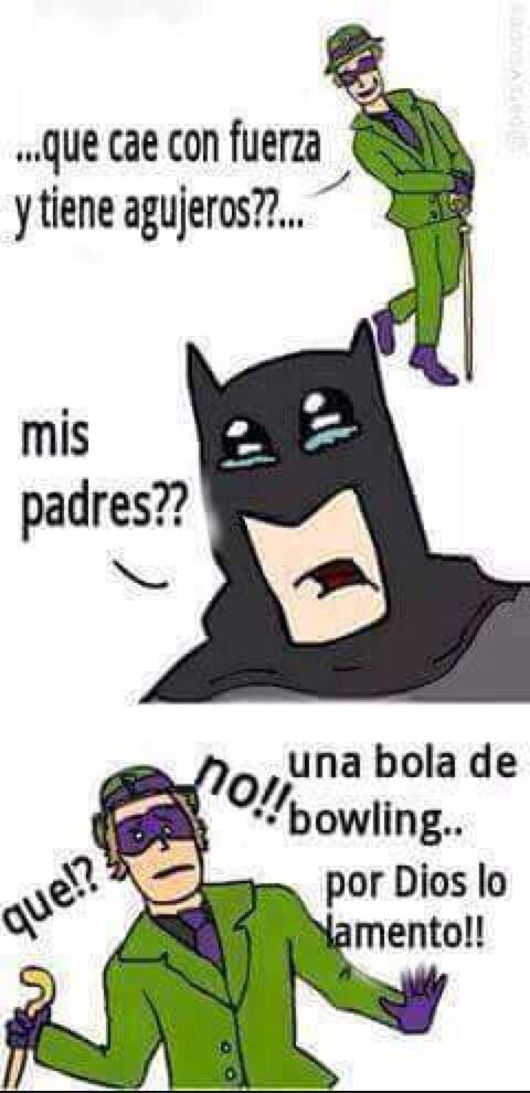 pobre Batman - meme