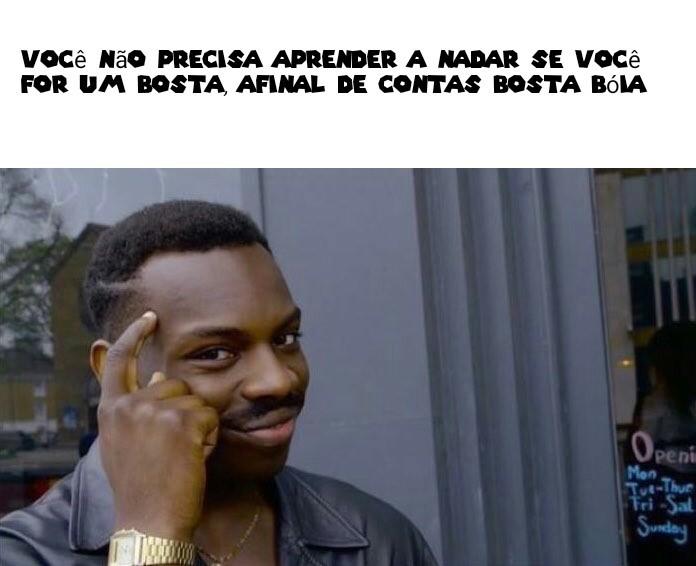 BOSTA Bóia - meme