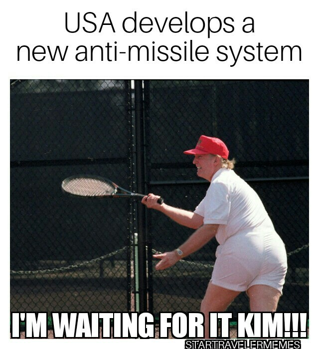 Trump VS Kim - meme