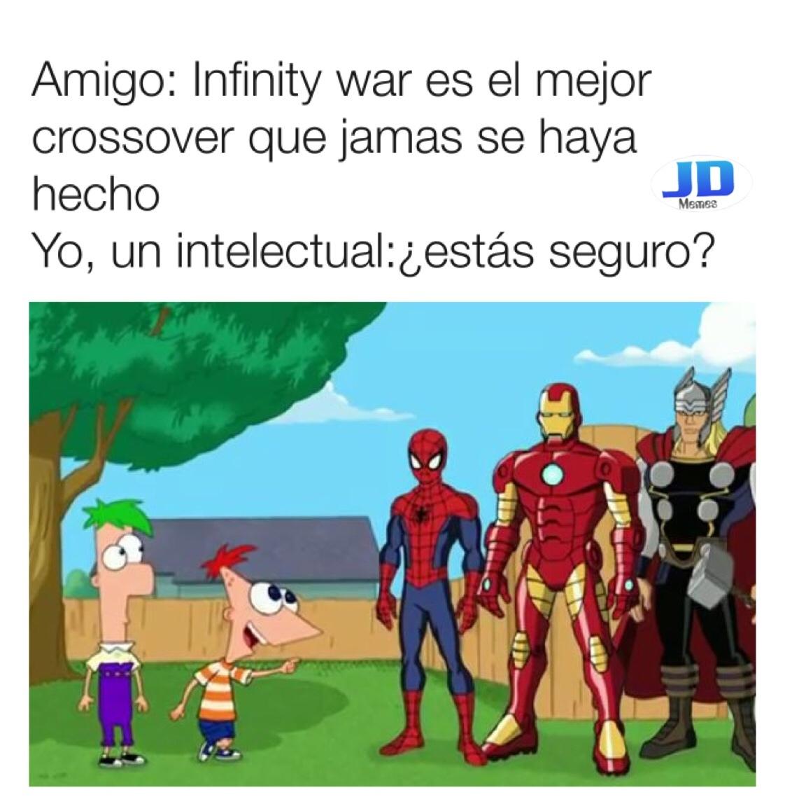 este fue el crossover... este - meme