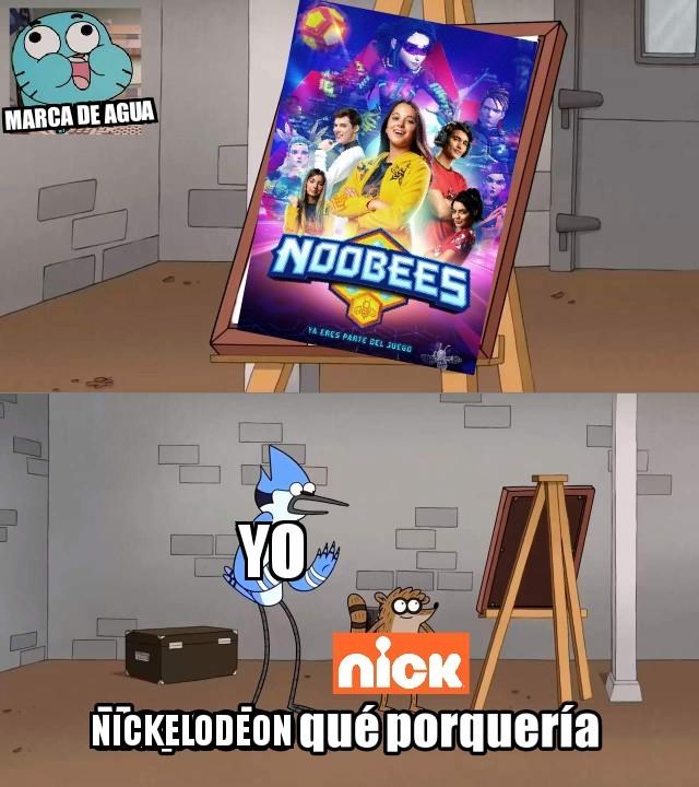 Nickelodeon y sus series latinas. - meme