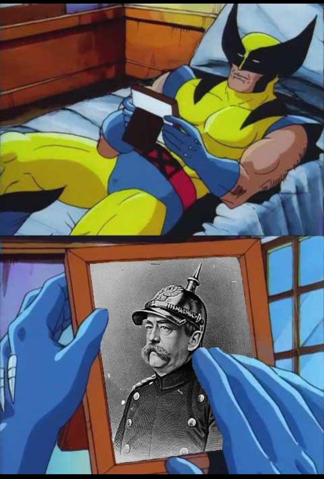 Meu grande amigo Otto von Bismarck - meme