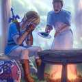 Link cooks like how old people f*ck