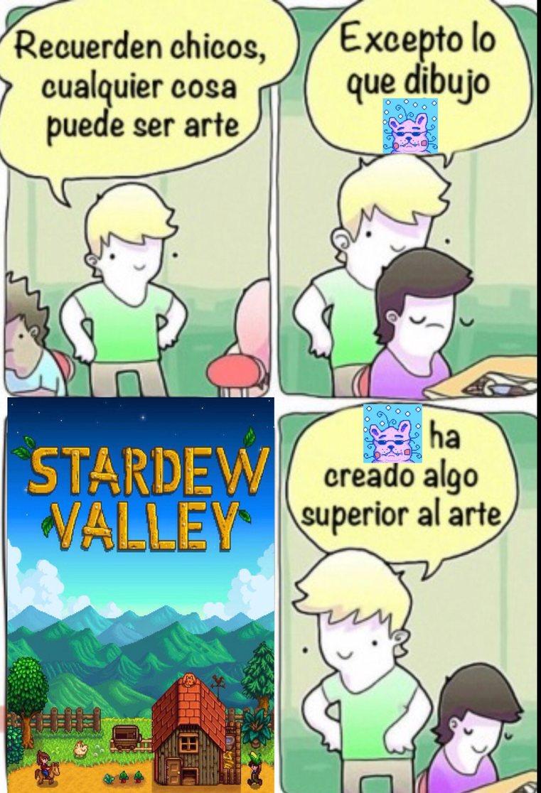 Statdew Valley=gigachad - meme