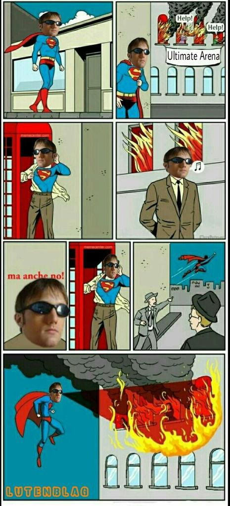Zeb superman. Cito tutti i giochi che zeb ha sfanculato. - meme