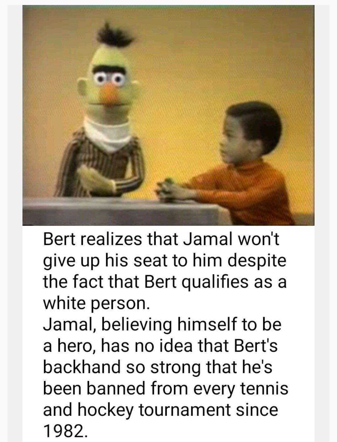 bert - meme