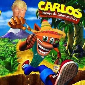 escapemos de latinoamerica con carlos - meme