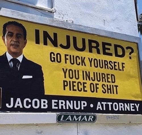 Injured? Who cares? - meme