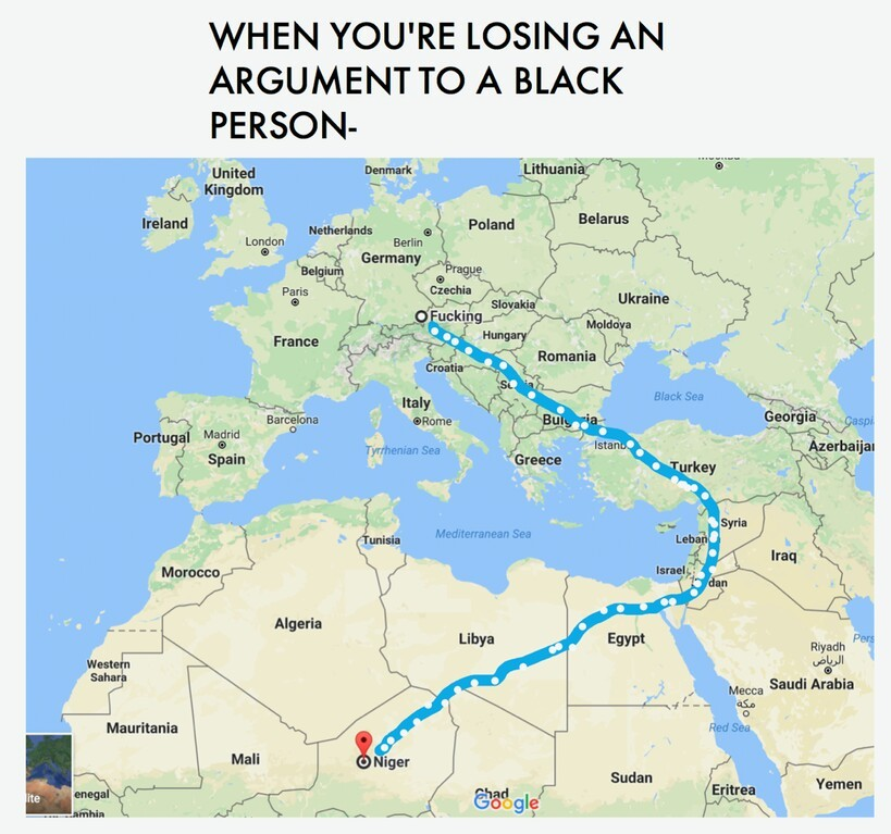 The best google maps memes :) Memedroid
