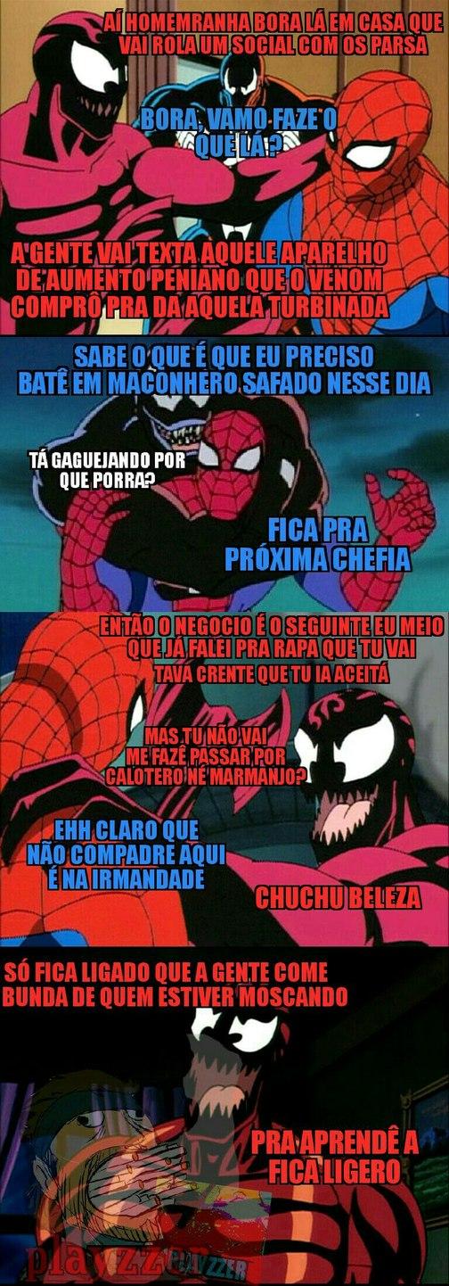 Homo arrranha - meme