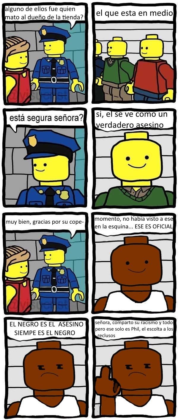 Legos racistas - meme