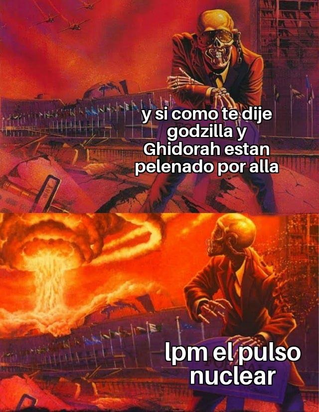 Godzilla 2 ser como - meme