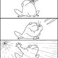Thug frog