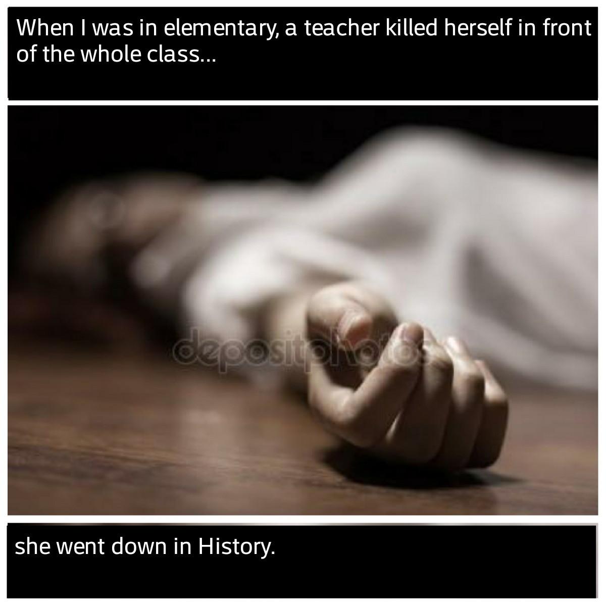 Tragedy - meme
