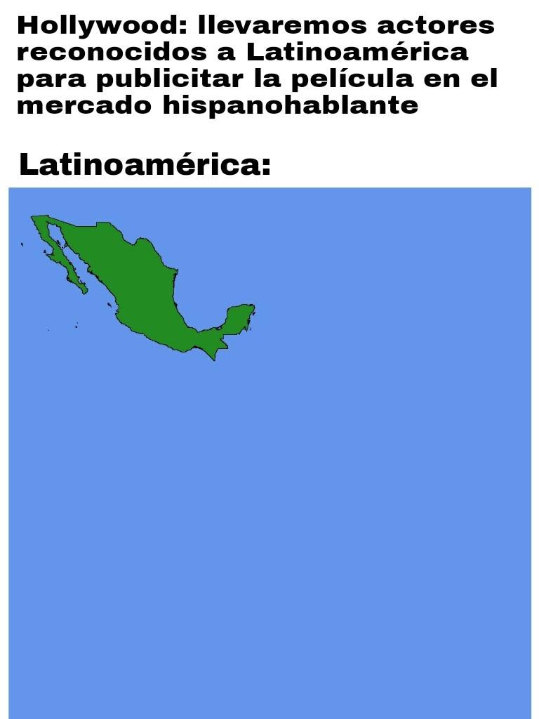No es en contra de México - meme