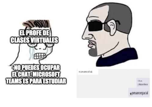 peruano espacial - meme
