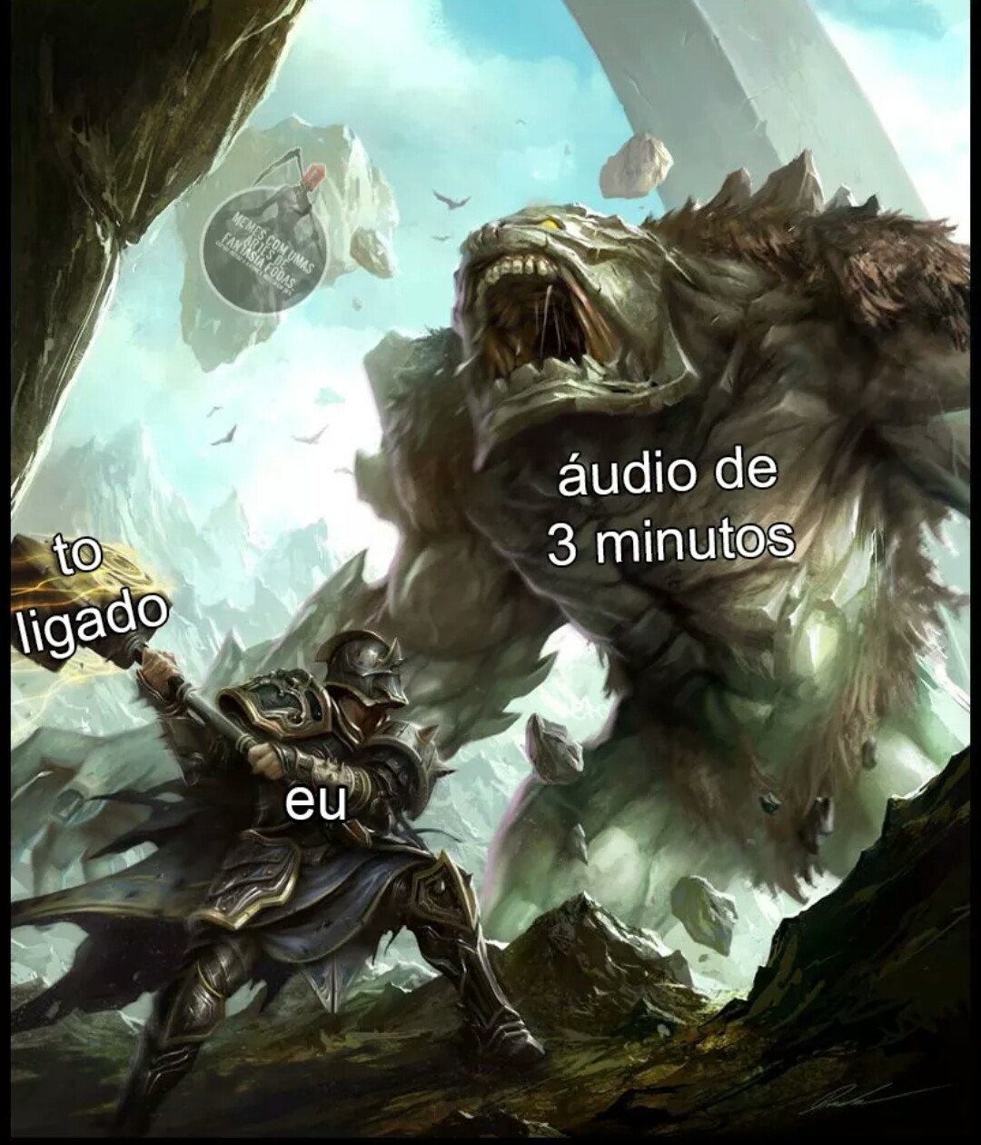 3 min dr áudio é forçar a amizade - meme