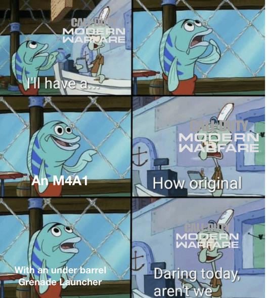 Modern Warfare - meme