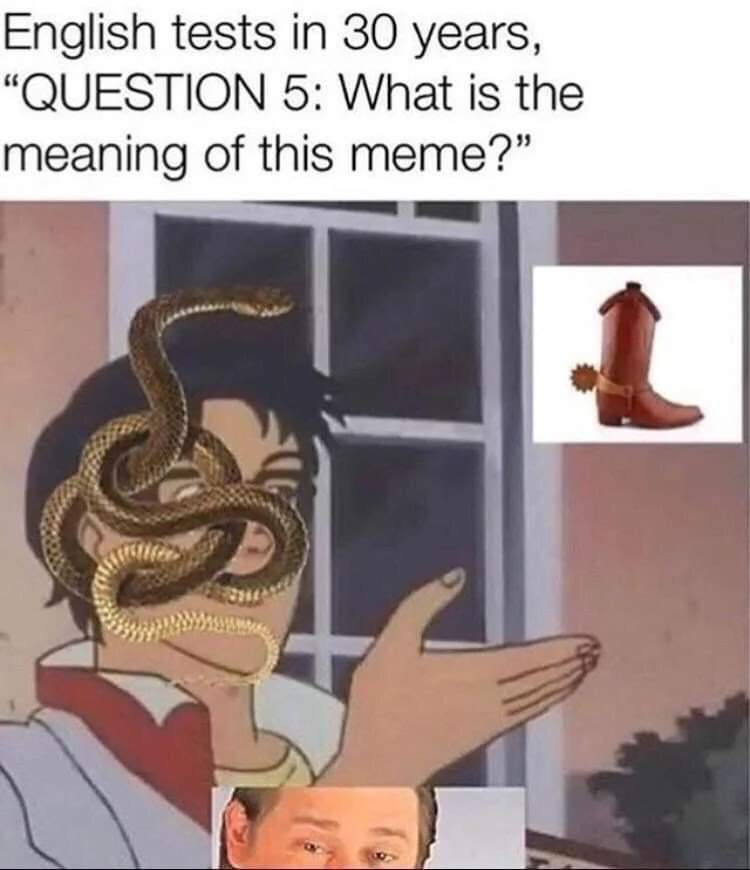 Finally homework I can help with - meme