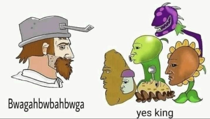 Plants Vs Zombies - meme