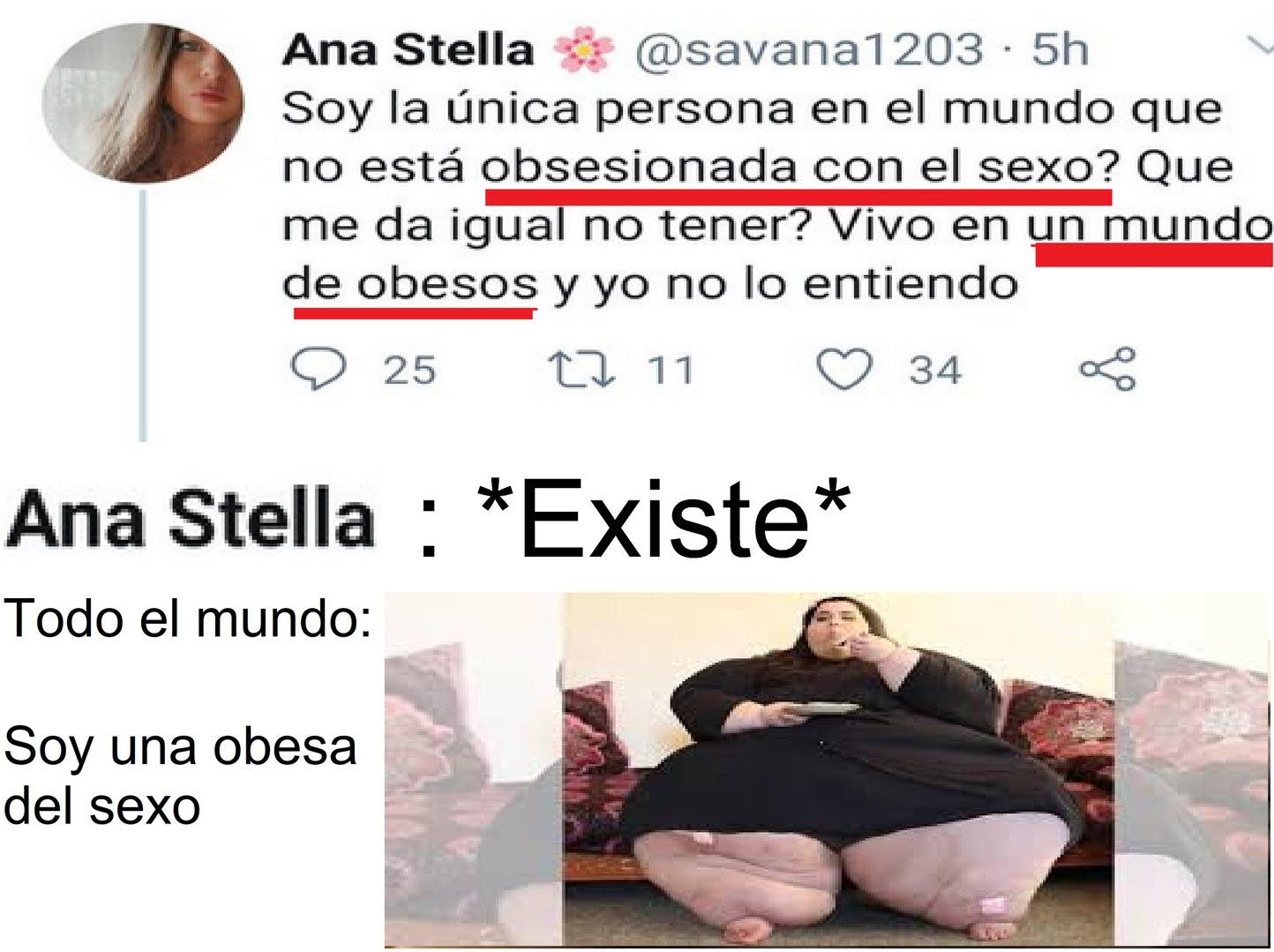 obesos del sexo - meme