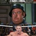 John Cena vs Sergeant Schultz
