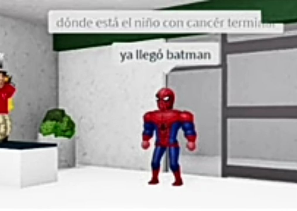 Ya llegó batman - meme